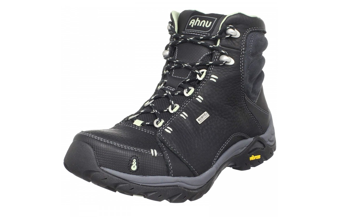 The Ahnu Montara offers waterproof oiled leather uppers for protection from the elements.