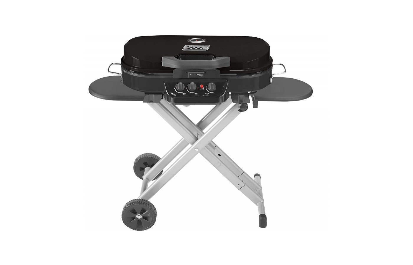 The Roadtrip lxx offers an easily portable grill for camping, tailgate parties, and park gatherings.