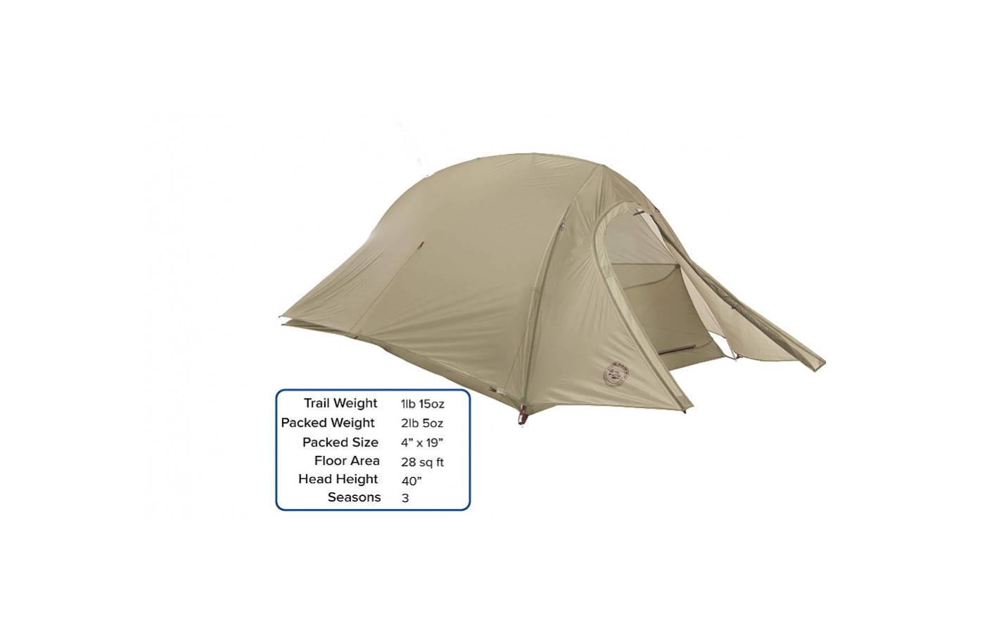 You get one of the most lightweight tents on the market with this model.