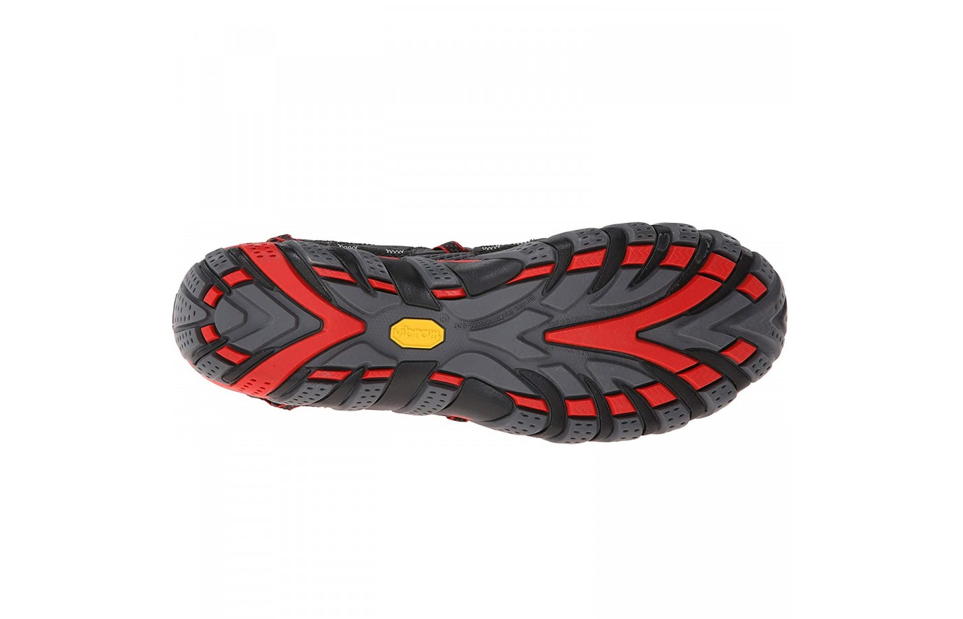 The Merrell Waterpro Maipo offers Vibram TC5+ outsoles for the ultimate traction and grip.