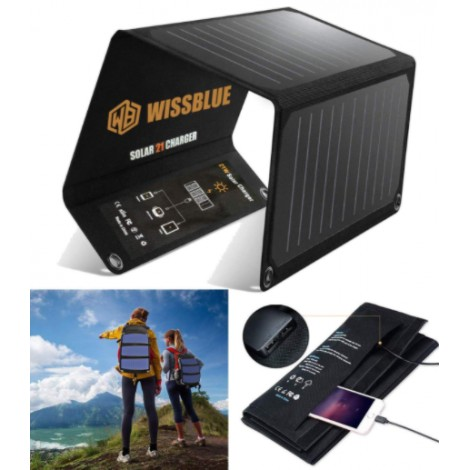 WISSBLUE Solar Charger