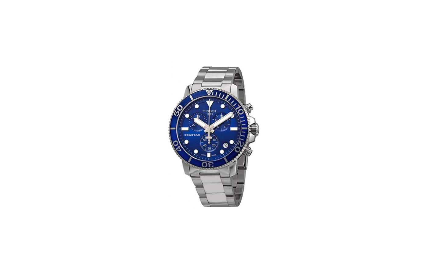 The Tissot Seastar 1000 is an attractive looking timepiece.