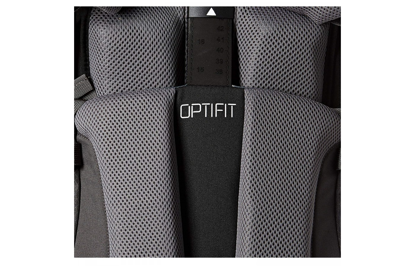 The North Face Terra 65 offers OPTIFIT suspension for better comfort.
