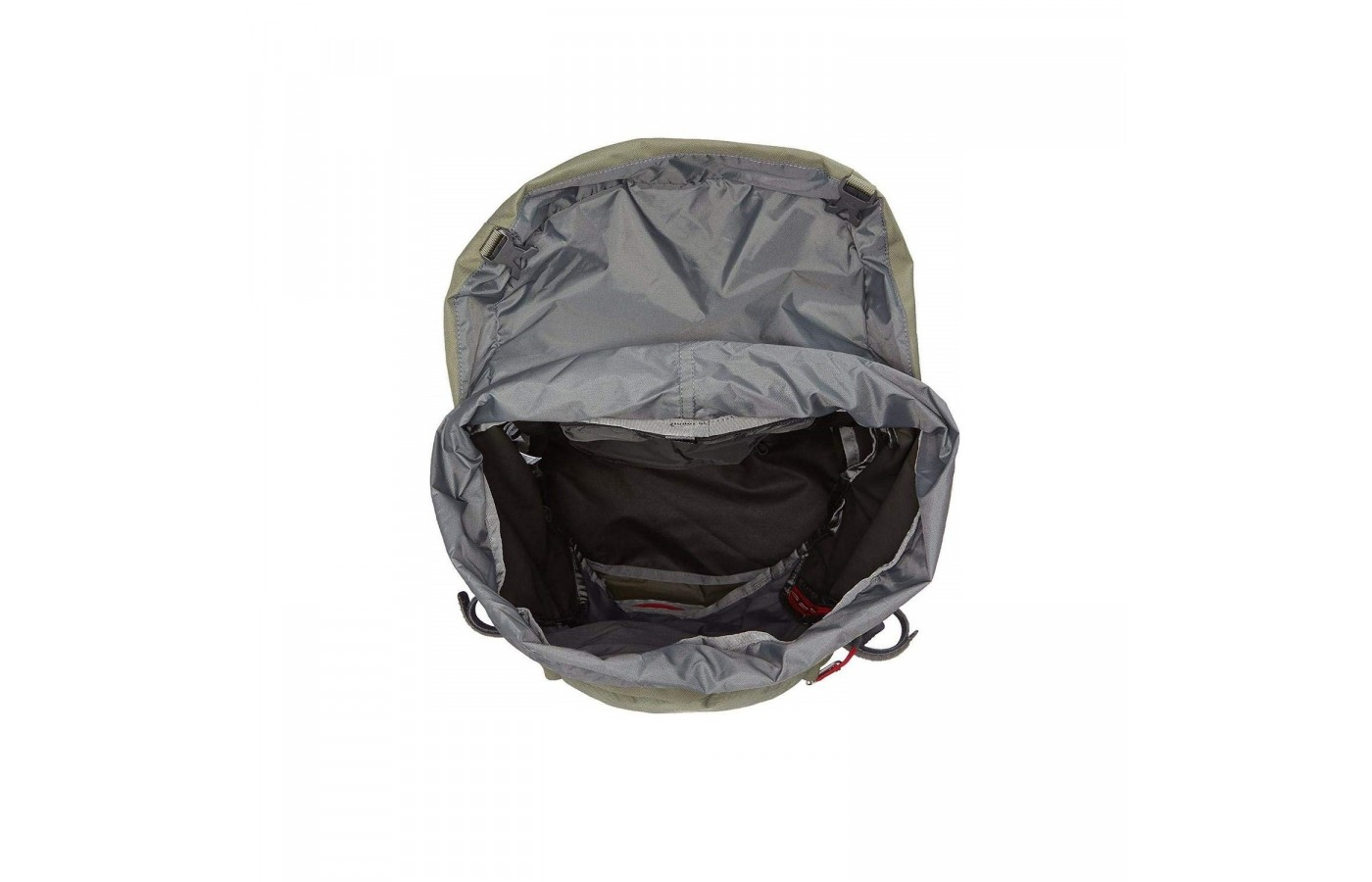 The North Face Terra 65 offers an improved zippered sleeping bag compartment making it ideal for overnight trips.