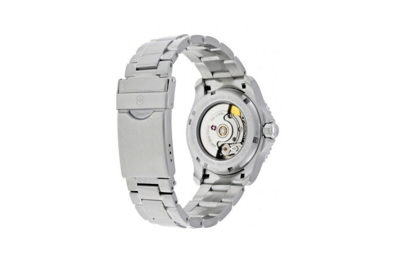 The watch is powered by either manually winding or by motion through your movements.