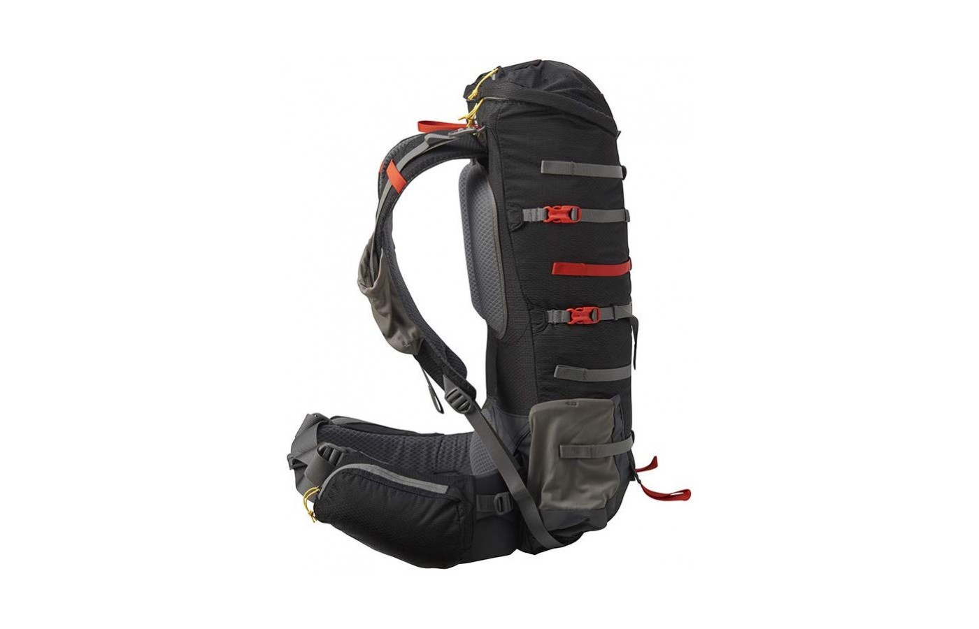 With the straps this pack continues to look stylishly appealing.
