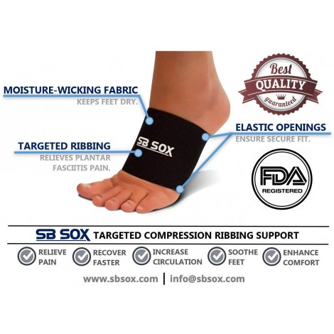 SB SOX Compression Sleeves Tools for Arch Support