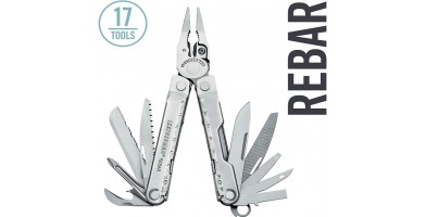 An in-depth review of the Leatherman Rebar.