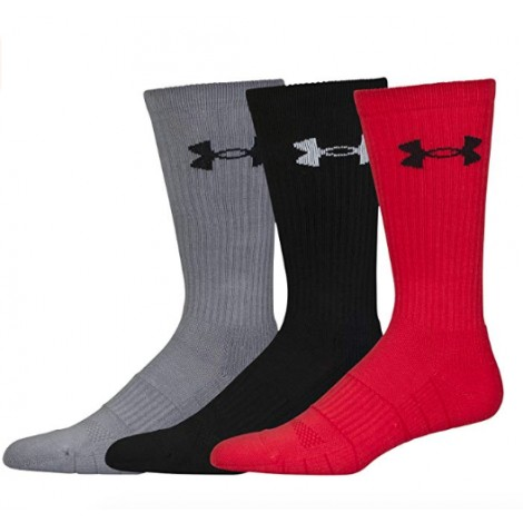 under armour elevated performance crossfit socks side view