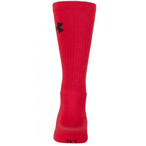under armour elevated performance crossfit socks back view