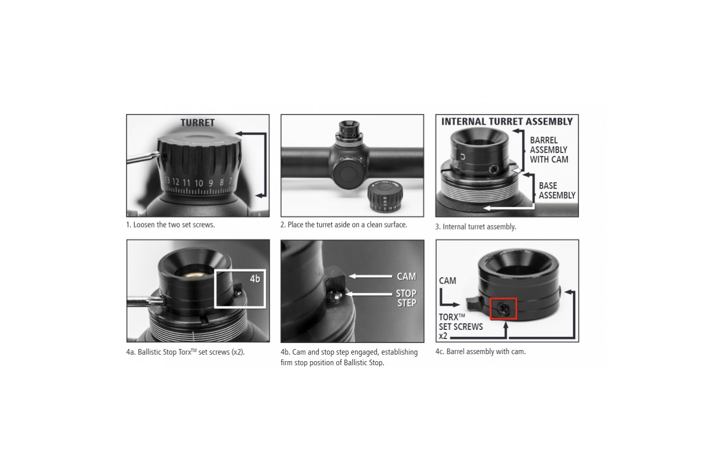 The Zeiss Conquest V6's owners manual gives a detailed and picture graph to help you set 0 point if it is off.