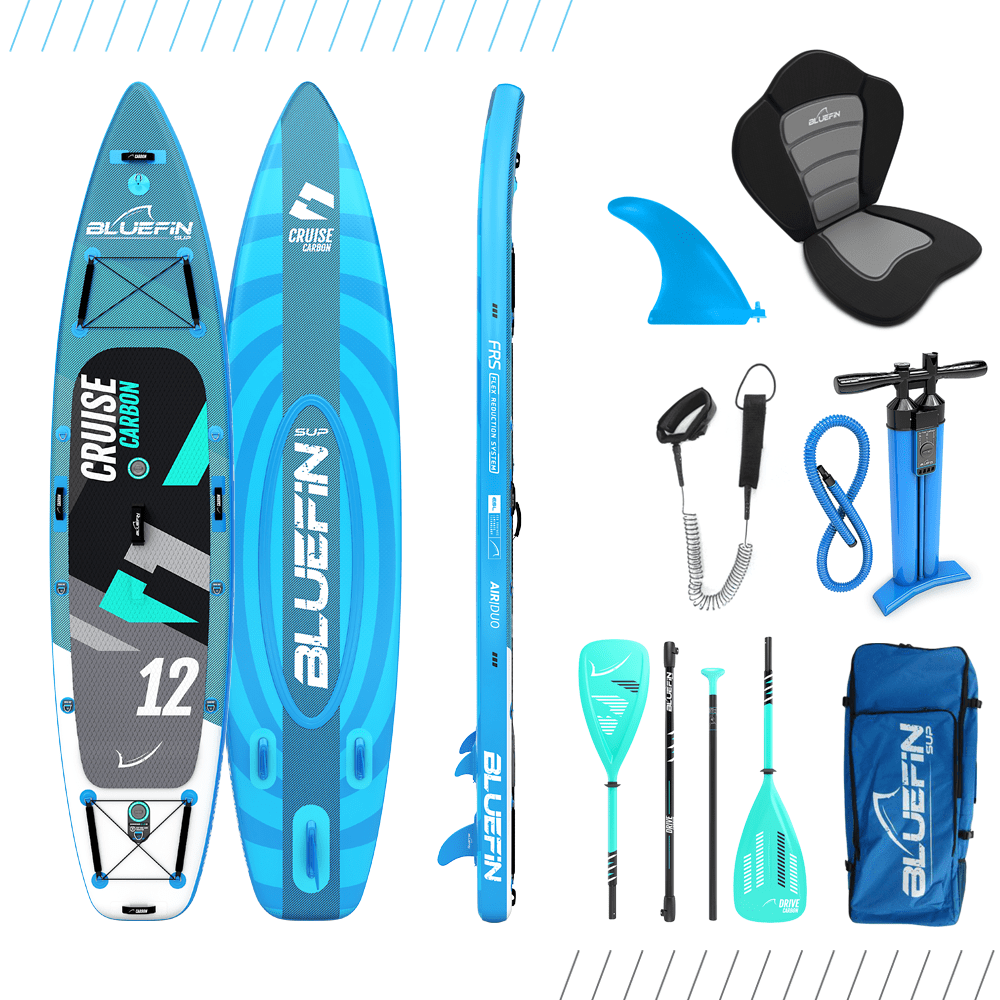 Bluefin Cruise Carbon Inflatable SUP