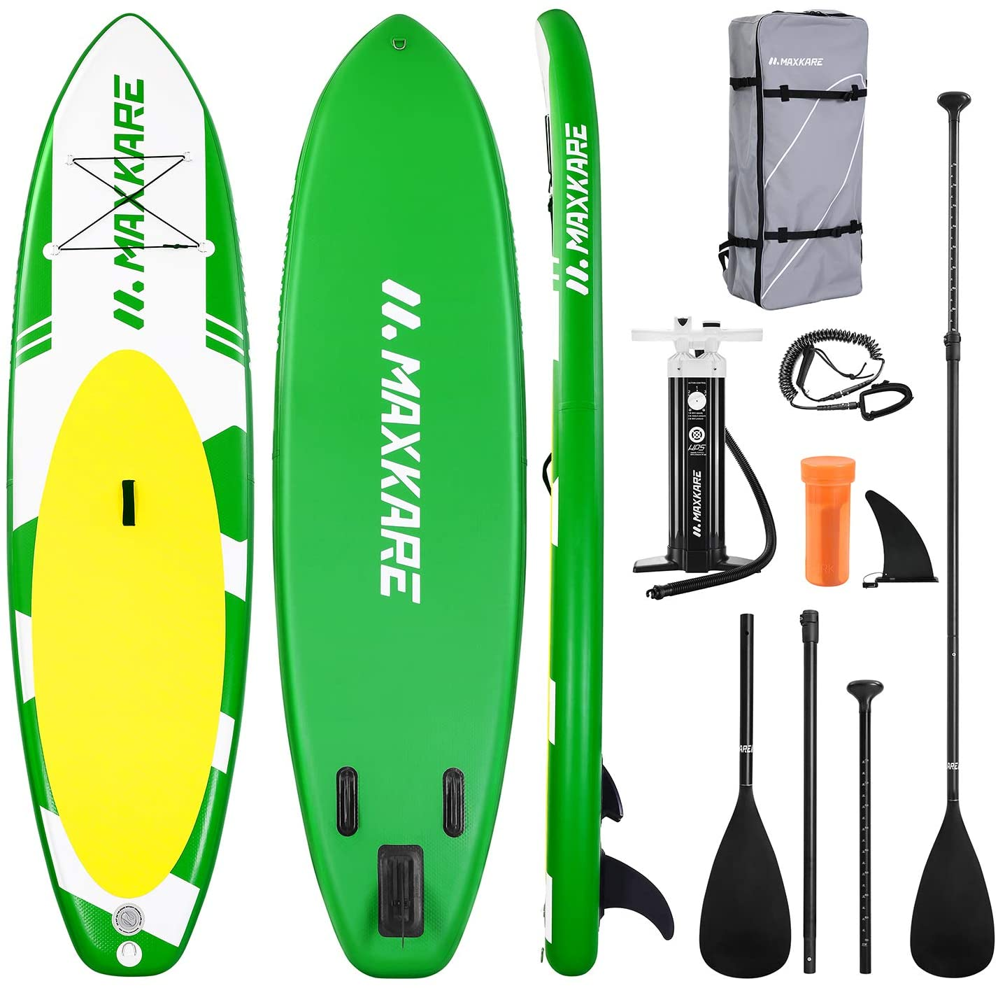 Best Paddle Boards MaxKare Cruiser Green