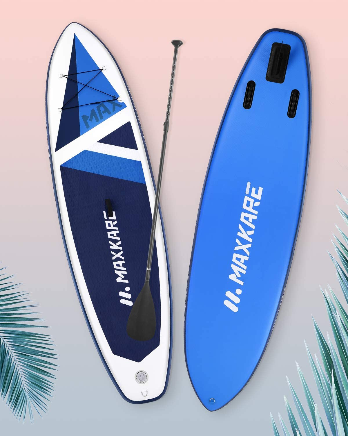 Best Paddle Boards MaxKare Max Blue