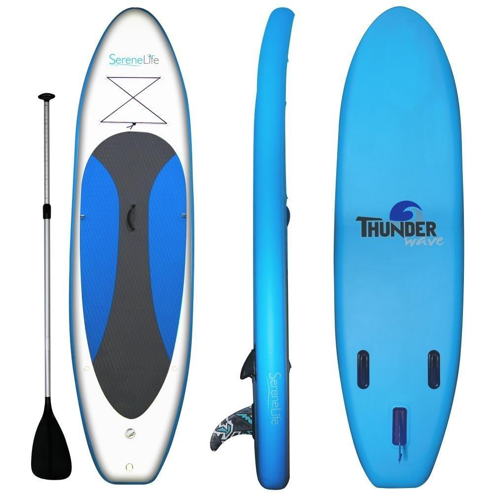 Serenelife Thunder Wave Inflatable SUP Blue