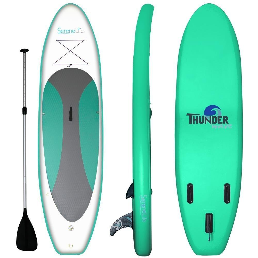 Serenelife Thunder Wave Inflatable SUP Green