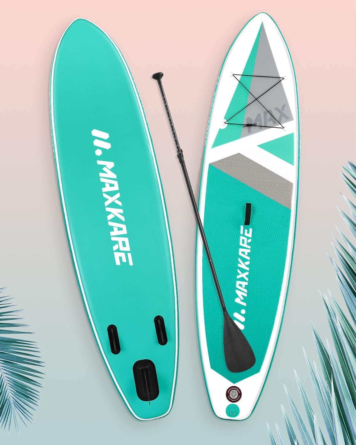 Best Paddle Boards MaxKare Max Teal