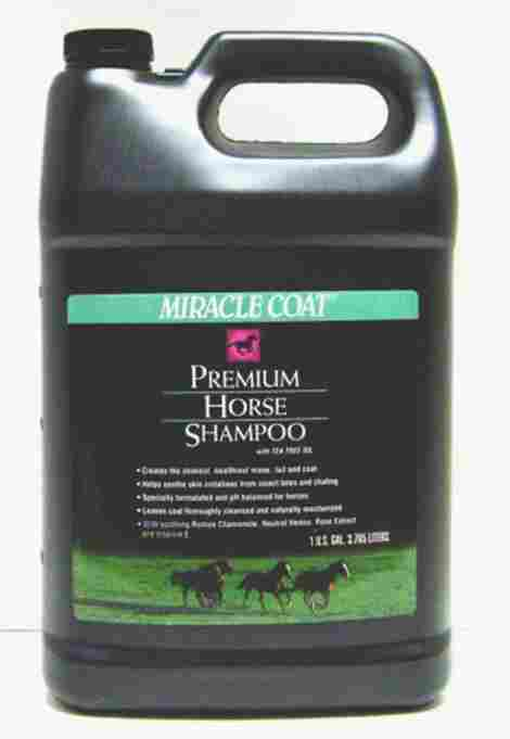 1. Miracle Coat Horse Shampoo and Conditioners