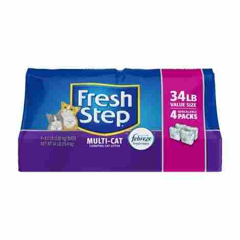3. Fresh Step Multi with Febreze