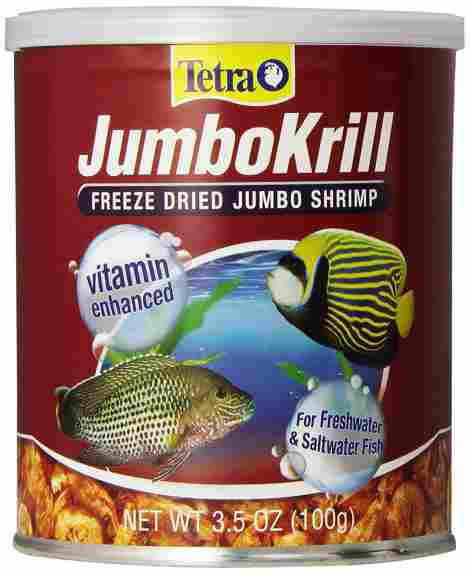 4. Tetra Freeze Dried Jumbo Shrimp