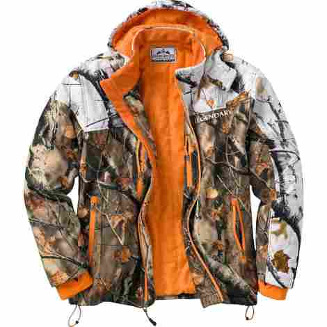 5. Legendary Whitetails Voyager Hooded Shirt Jacket