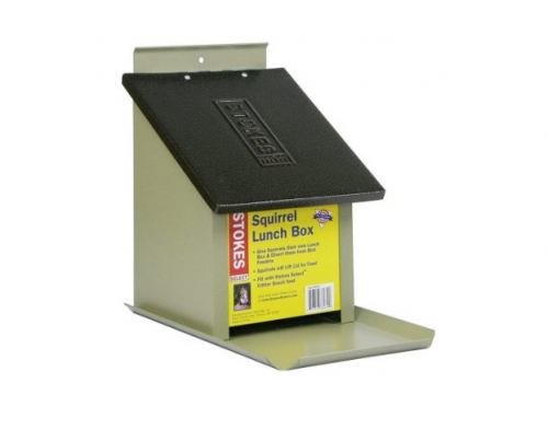7. Stokes Select Lunch Box Squirrel Feeder
