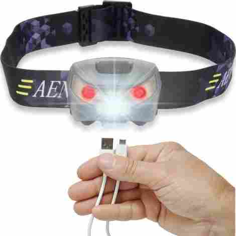 13. Aennon USB Rechargeable LED