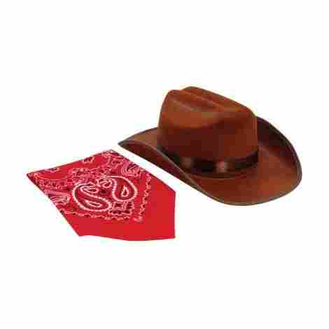 This is the perfect hat to give to your child whenever they want to play  make believe and dress up like a cowboy or a cowgirl. It has a great western  look ... d53d3a0c719b