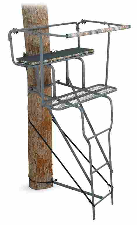 6. Ameristep 15 feet Two Man Ladder Stand