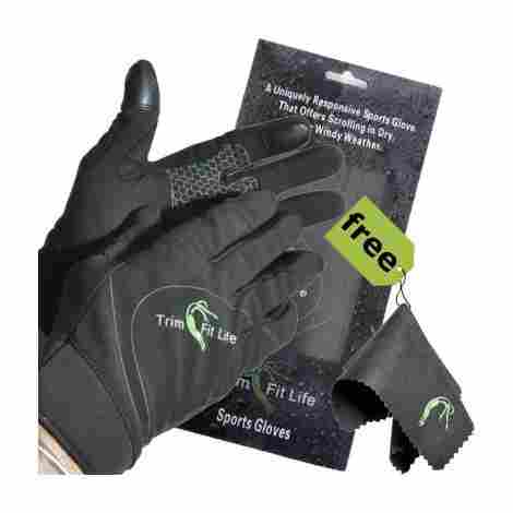 10. Trim Fit Life Running Gloves