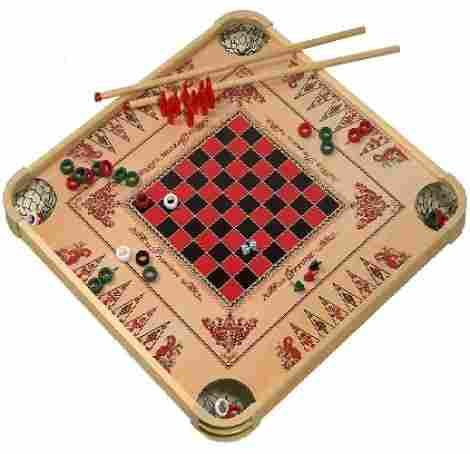 10. Carrom Game Board Large