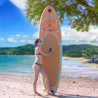Our review of The DAMA Nature iSUP Board