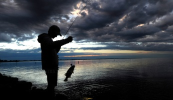 An in-depth review of fishing after a storm.