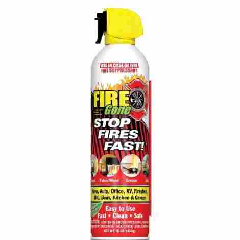 8. Fire Gone Fire Suppressant Canisters
