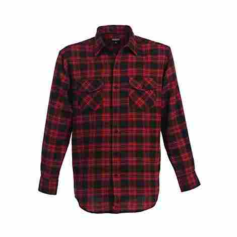 10. Gioberti Men's Flannel Shirt