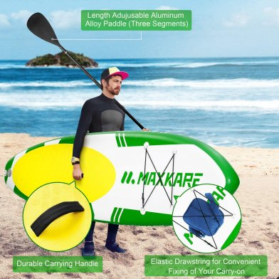 MaxKare iSUP Board Review