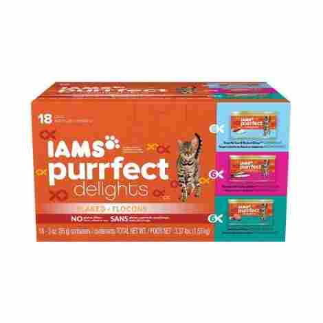 4. Iams Purrfect Delights