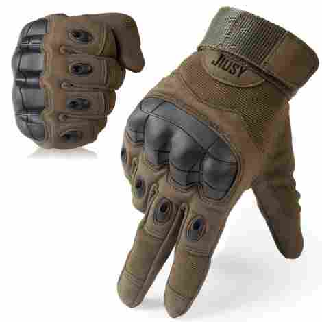 7. JIUSY Touch Screen Tactical Gloves