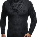 Leif Nelson Faux Leather Pullover
