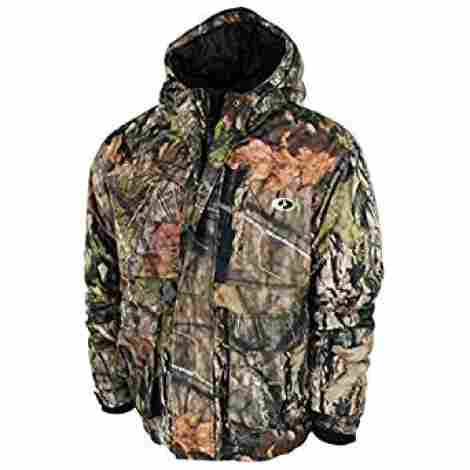7. Mossy Oak Waterproof, Windproof and Breathable Insulated Camo Jacket