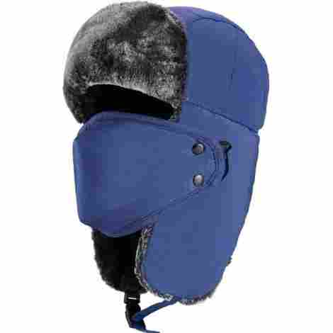 Imagine checking your traps or skiing down the slopes in your knitted winter  hat. I bet your face is cold a202e4f90ebc