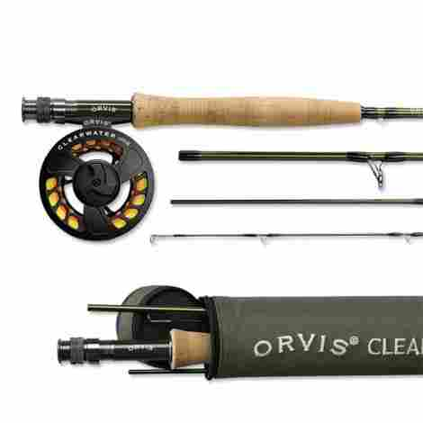 4. Orvis Clearwater Outfit