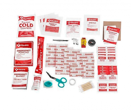 MediKit Deluxe First Aid Kit Interior