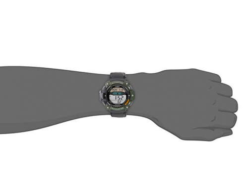Casio Men's SGW300HB-3AVCF Multi-Function Outdoor Watch on Hand