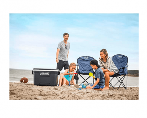 Coleman Portable Quad Camping Chair with Cooler 2