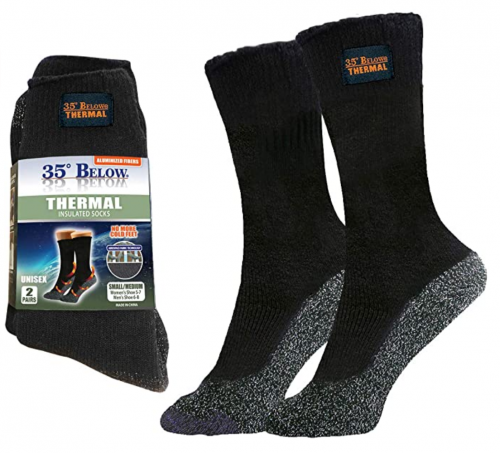 35 Degrees Below Thermal 2 pairs – Thicker Insulated Socks 2