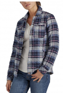 Dickies womens Quilted Flannel Shirt Jacket