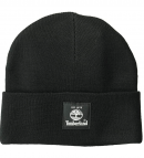 Timberland Men's Short Watch Cap with Woven Label