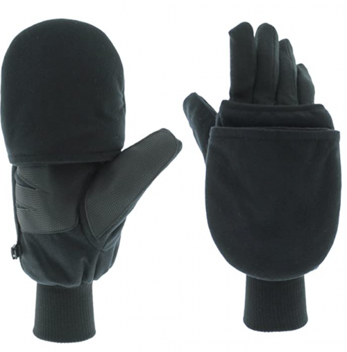 Heat Factory Gloves with Pop-Top Mittens