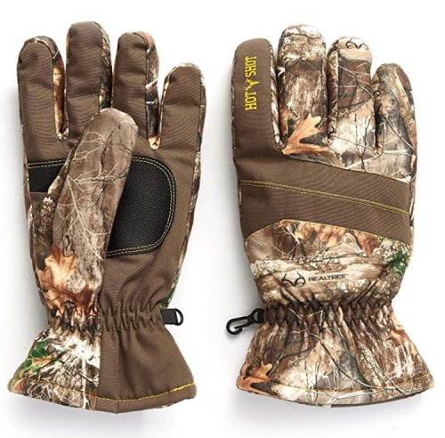Hot Shot Men's Defender Camo Thinsulate Insulated Hunting Gloves